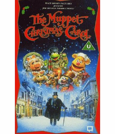 Disney The Muppet Christmas Carol (1993) (Disney) [VHS] [1992]